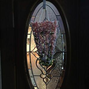 Front door ornament.    ( home made)